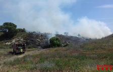 Fuegos en La Sentiu, Torres de Segre, Coll de Nargó y Balaguer