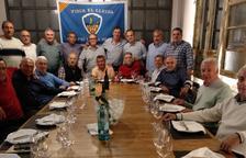 Exjugadors del Lleida homenatgen Pacheco