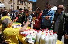 La Fira de la Camamilla de Linyola bat rècords amb 5.000 visitants