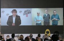 Actes centrals de JxCat, ERC i BComú a Barcelona