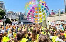 Concentració a Barcelona per salvar el sector social
