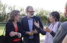 Larrosa promet un carril bici a Prat de la Riba i noves zones 30