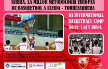 VÍDEO. Torrefarrera acollirà un any més l'International Basketball Camp