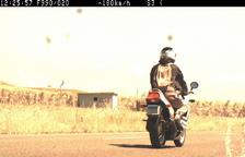 Cazado a 180 km/h con la moto en la C-12 en Menàrguens