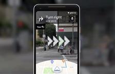 Google Maps amb realitat augmentada