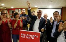El PSC guanya a Tarragona però empata amb Esquerra en edils