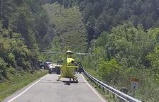 Una ciclista de 62 años, grave tras sufrir una caída en el Alt Urgell