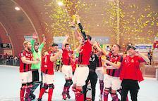 Dos lleidatans pugen a la Primera divisió suïssa d'hoquei