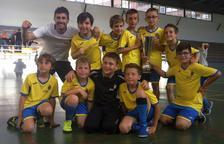 L'equip de l'Escola Espiga guanya la Copa Segrià de futbol sala
