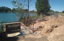Almacelles construye un 'by pass' para asegurar la calidad del agua