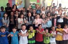 Más de mil estudiantes dicen 'basta' al incivismo en Guissona
