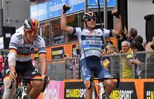 Victòria italiana a l'etapa del Giro