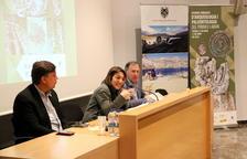Elsa Ibar, directora general de Patrimoni Cultural, va obrir la jornada.