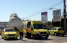 Una fuga d'amoníac causa un mort a Tarragona