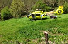 Muere un motorista de 28 años en una salida de vía en el Solsonès