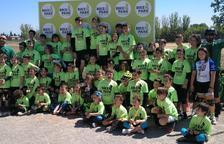 Vila-sana acull el Torneig Interescolar de Ciclisme del Pla d'Urgell