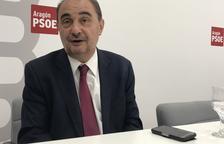 Lambán, más cerca de repetir en Aragón tras el veto del PAR a Vox