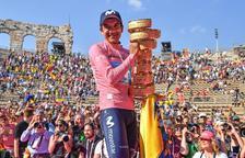 Richard Carapaz venç al Giro i conquereix la seua primera gran volta