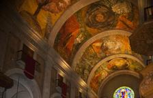 Minguell presenta su crónica sobre los frescos de Tàrrega
