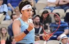 Anisimova acaba amb el somni d'Aliona Bolsova a les pistes de París