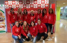 L'equip femení del Sícoris, subcampió de la Lliga de pàdel