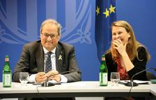 La Generalitat insta els delegats a l'exterior a difondre l'informe de l'ONU