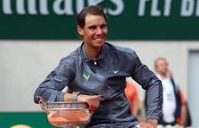 Nadal completa la seua enèsima exhibició i s'emporta el seu dotzè Roland Garros al vèncer Dominic Thiem en tres hores
