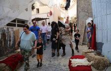 Deu mil persones tornen a l'edat mitjana a Almenar