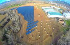 Projecte d'una nova gran central solar a Alguaire