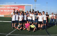 Cambrils i Vic triomfen en els tornejos de futbol base del Bordeta