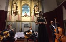 Un concierto de una edición anterior del Festival de la Vila de Rialp.