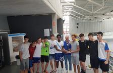 El Club Natació Tàrrega, campió de Catalunya cadet