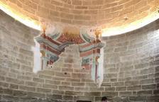 Restauran las pinturas del XVII de Carratalà, en Aitona