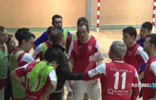 Quince años de fútbol sala en Linyola