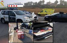 Detenido un contrabandista tras una persecución entre Ponts y Jorba