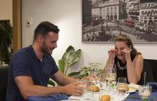 El lleidatà Saúl Craviotto, a 'Cenas con mamá'