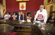 Pleno tenso en Cervera para dar la mayoría para gobernar a Junts
