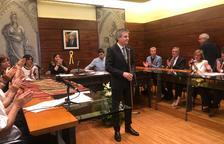 David Rodríguez, quart mandat al capdavant de l'ajuntament de Solsona