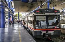 Maquinistes 'prestats' per al tren de la Pobla