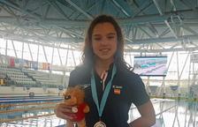 Emma Carrasco, medalla d'or a la Mediterranean Cup