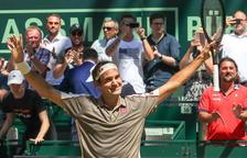 Federer venç per desè cop a Halle i s'atansa a Connors