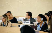 Espanya protesta al ple del Consell de Drets Humans de l'ONU