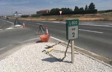 Alcarràs millora un tram de la via que dóna accés a Vallmanya i a l'A-2