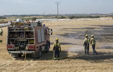 Un nou incendi en plena onada de calor deixa tot el matí sense llum els veïns de Verdú