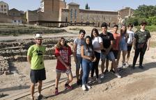 Campos de trabajo para jóvenes en Guissona
