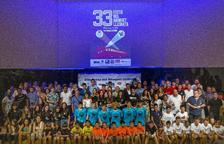 Más de 300 personas en la XXXIII Festa del Bàsquet Lleidatà que premió a los mejores de la pasada temporada