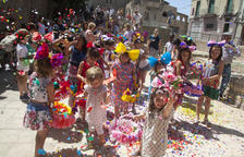 Guissona revive la tradicional fiesta de la Enramada de Corpus