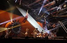 Cinco mil personas en El Cirque du Soleil en Andorra