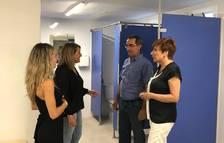 Aitona renova els vestidors del Pavelló Municipal