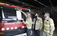 Los Bomberos dan por extinguido el incendio de la Ribera d'Ebre